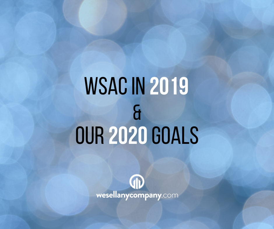 2019 and our 2020 goals